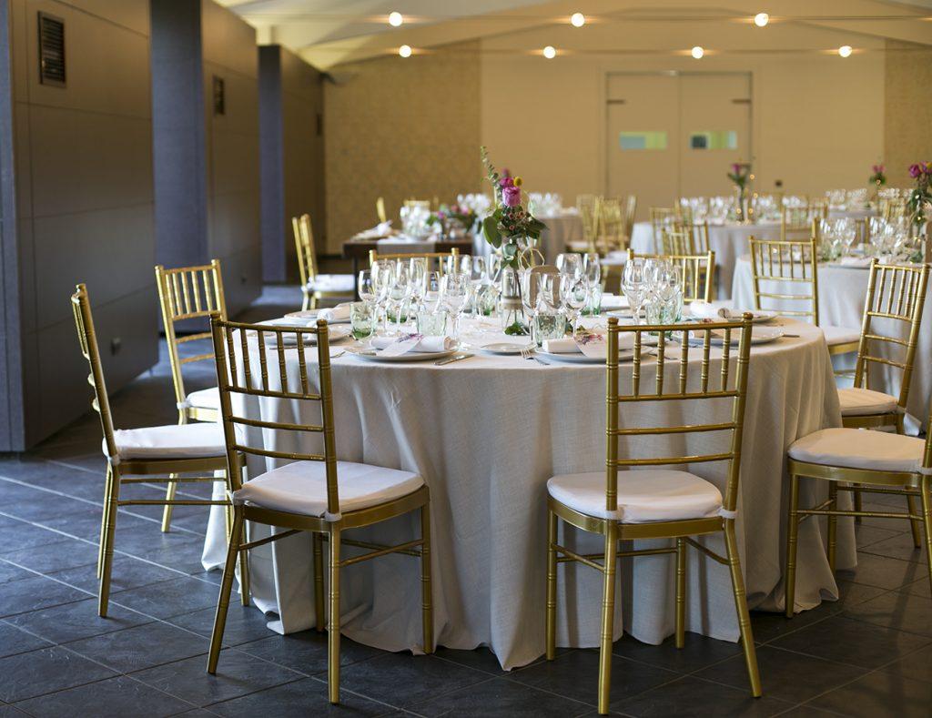 Detalle del Salón de Banquetes